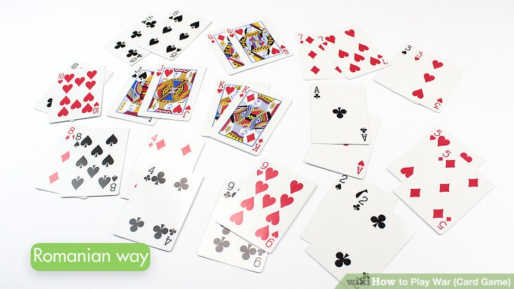 How to Play War (Card Game) 13 Steps (with Pictures) - wikiHow