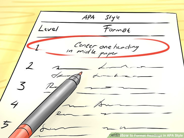 3 Ways to Format Headings in APA Style - wikiHow - format apa
