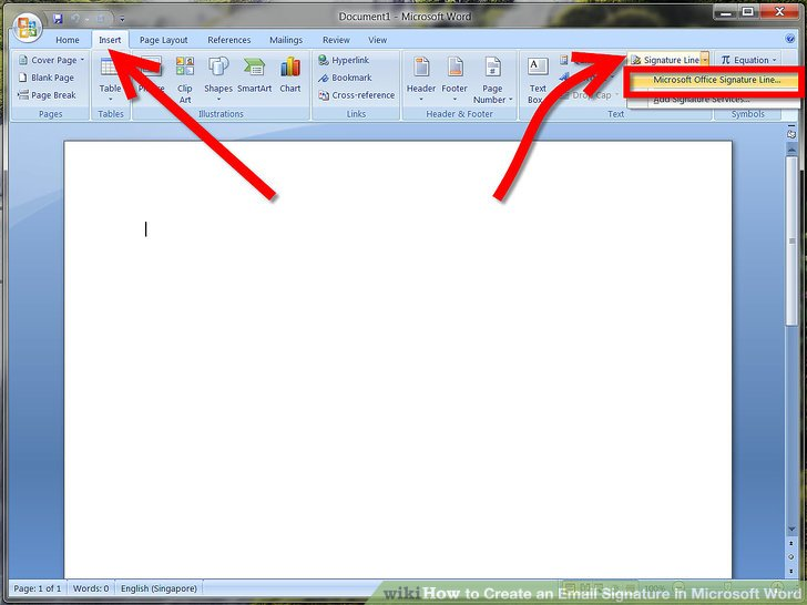 How to Create an Email Signature in Microsoft Word 7 Steps