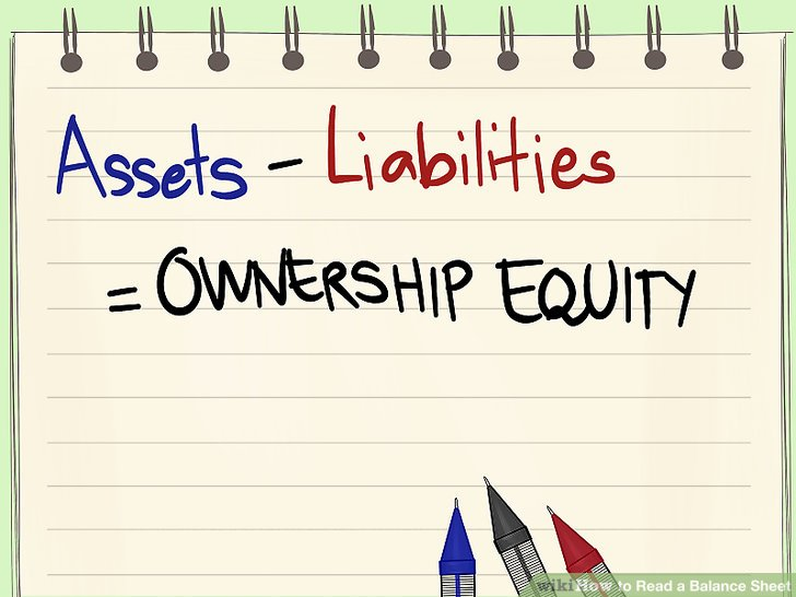 How to Read a Balance Sheet (with Pictures) - wikiHow