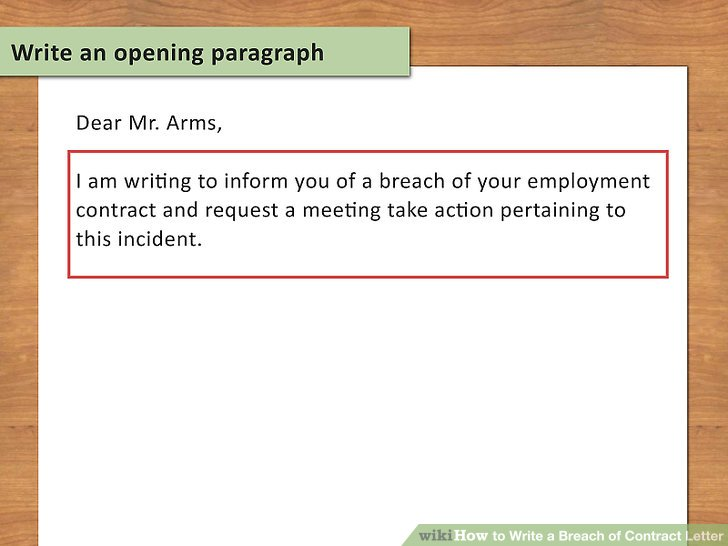Lawyer-Approved Advice on How to Write a Breach of Contract Letter
