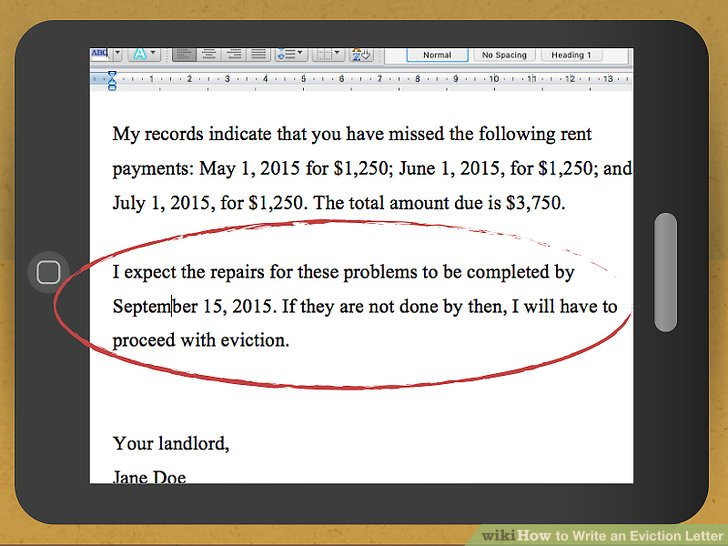 How To Write A Complaint Letter To Your Landlord 13 Steps - Auto