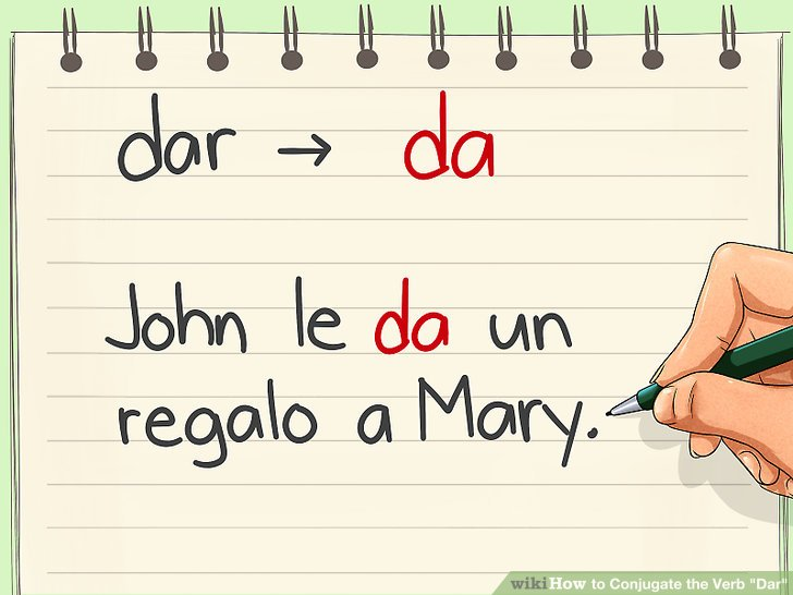 4 Ways to Conjugate the Verb \