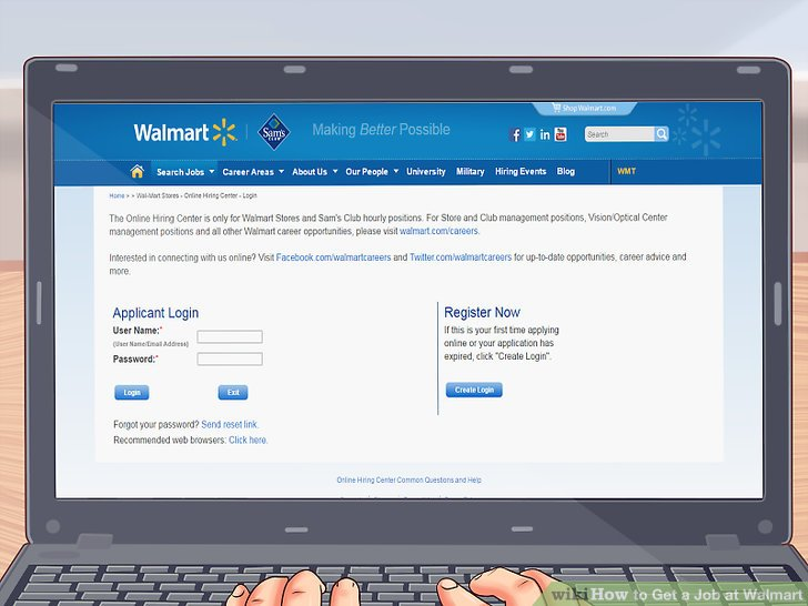 How to Get a Job at Walmart 13 Steps (with Pictures) - wikiHow - walmart careers