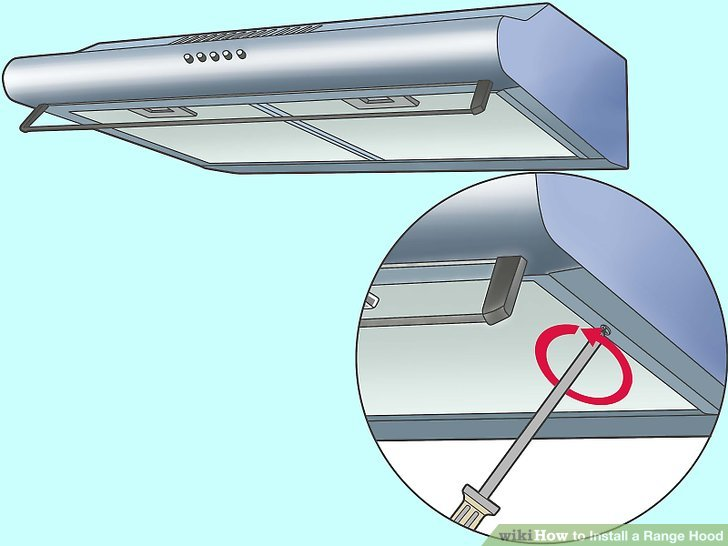 How to Install a Range Hood 14 Steps (with Pictures) - wikiHow