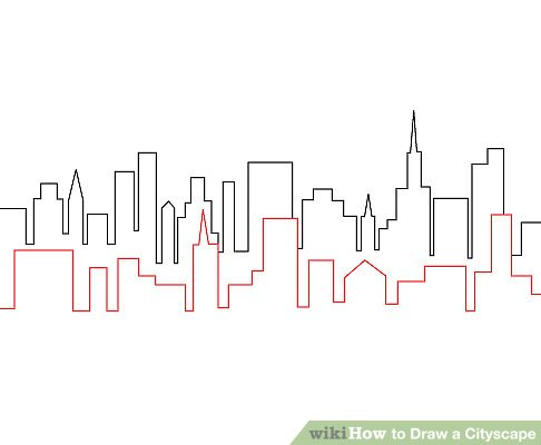 How to Draw a Cityscape 4 Steps (with Pictures) - wikiHow