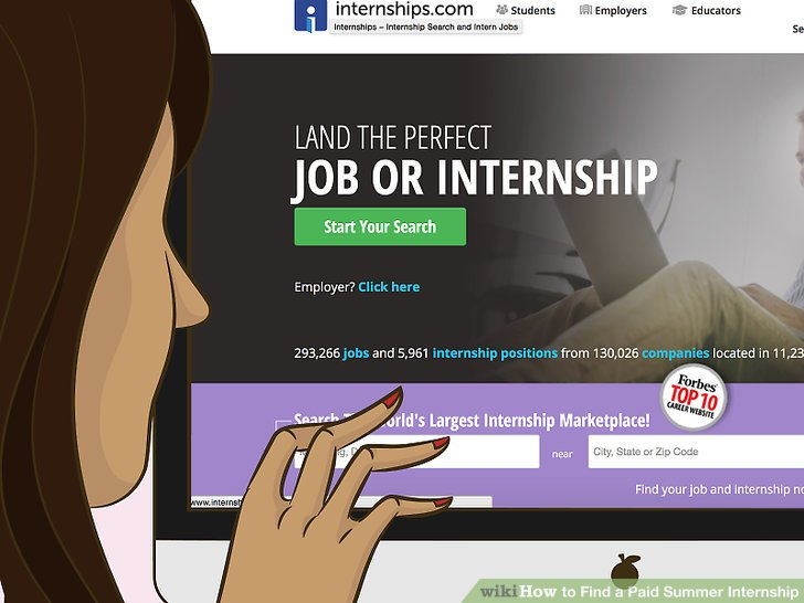 How to Find a Paid Summer Internship 15 Steps (with Pictures)