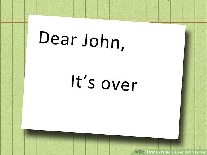 dear john letter template