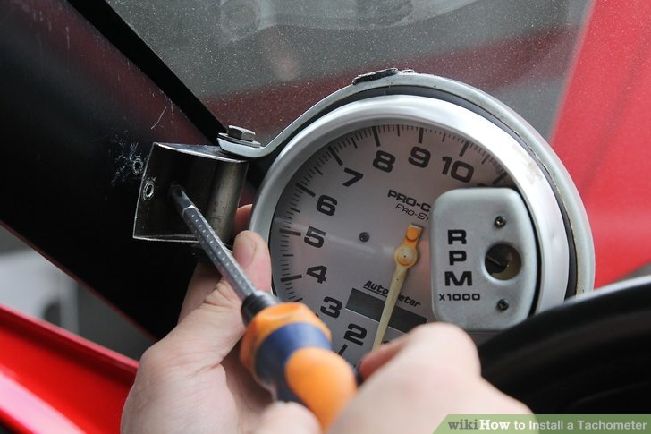 How to Install a Tachometer 8 Steps (with Pictures) - wikiHow