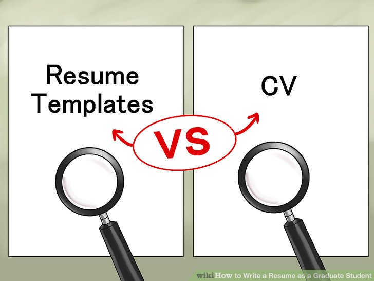 How to Write a Resume as a Graduate Student (with Pictures) - phd student resume
