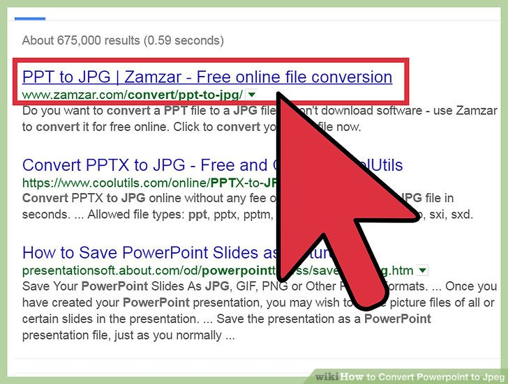 How to Convert Powerpoint to Jpeg 11 Steps (with Pictures)