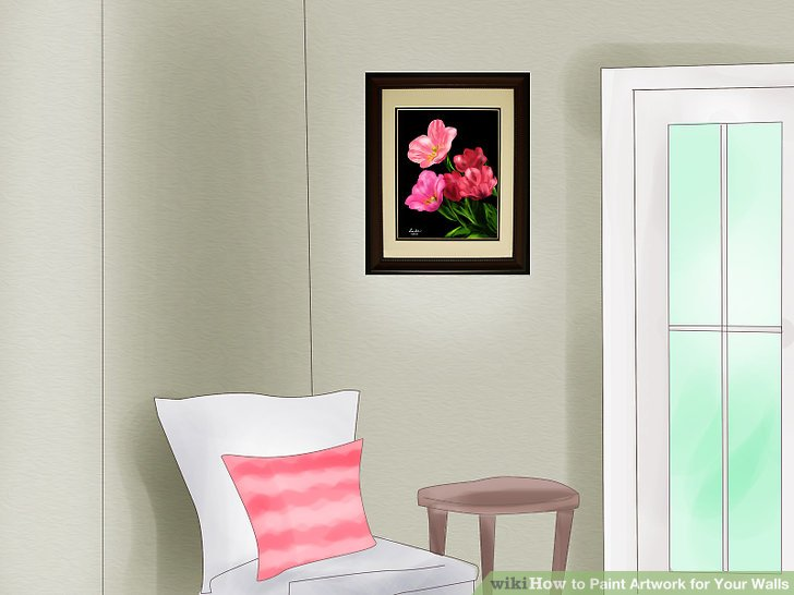 How to Paint Artwork for Your Walls 9 Steps (with Pictures)