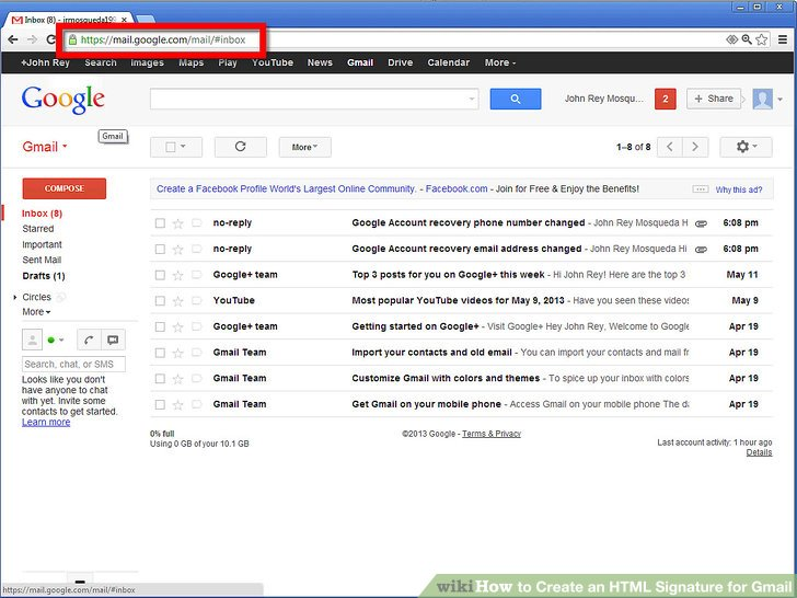 How to Create an HTML Signature for Gmail 10 Steps