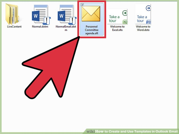 How to Create and Use Templates in Outlook Email (with Sample Templates) - how to create a email template in outlook