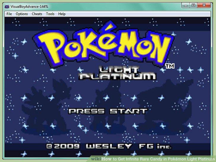 My boy gba emulator pokemon light platinum cheats ltt image titled get infinite rare candy in pokemon light platinum step 1 aloadofball Image collections