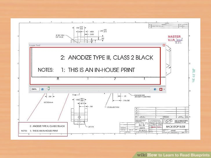 how to read a blueprint