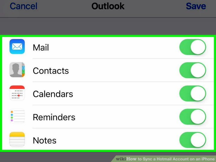 How to Sync a Hotmail Account on an iPhone 11 Steps