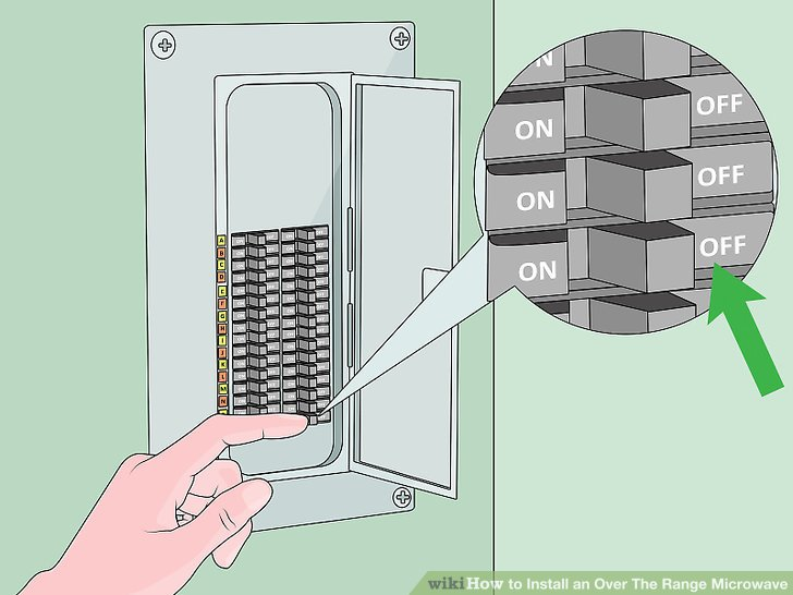 How to Install an Over The Range Microwave 15 Steps