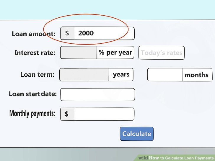 4 Ways to Calculate Loan Payments - wikiHow - deferred payment loan calculator excel