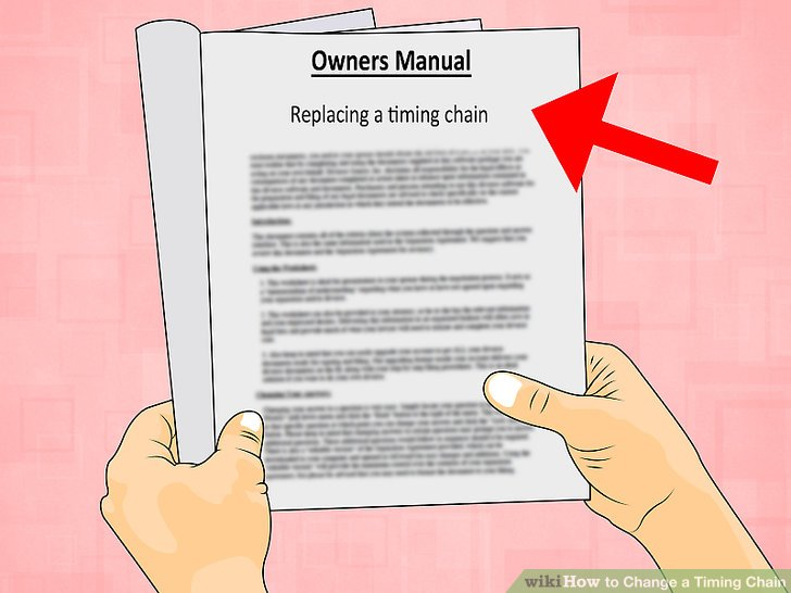 How to Change a Timing Chain (with Pictures) - wikiHow