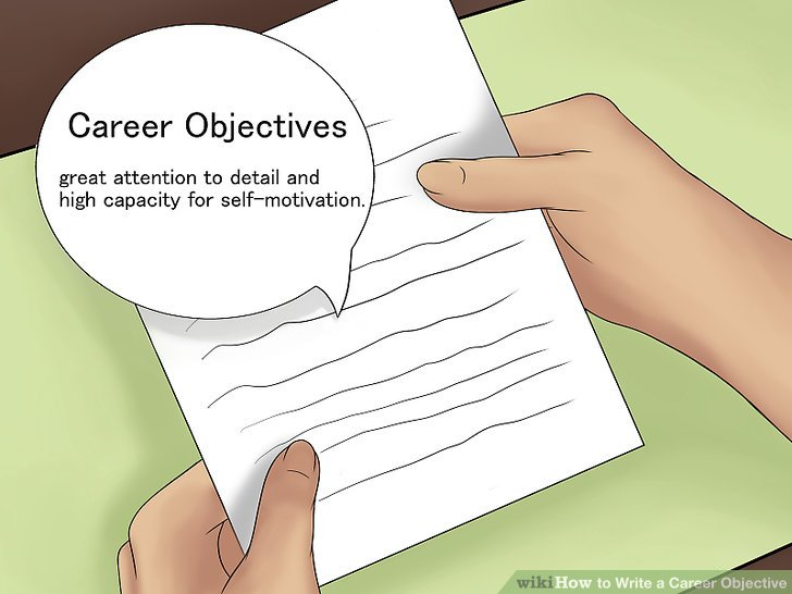 How to Write a Career Objective 7 Steps (with Pictures) - wikiHow - what is a career objective
