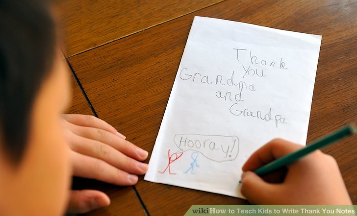 How to Teach Kids to Write Thank You Notes 6 Steps