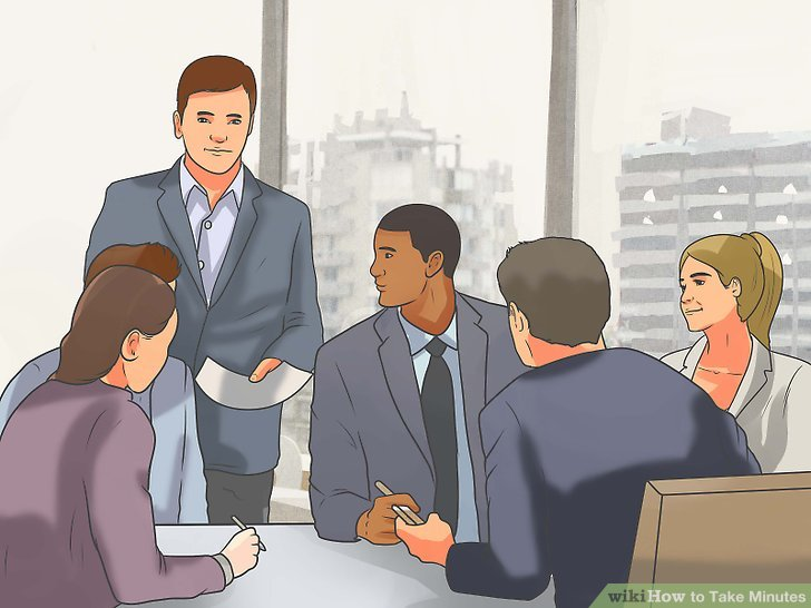 How to Take Minutes (with Pictures) - wikiHow