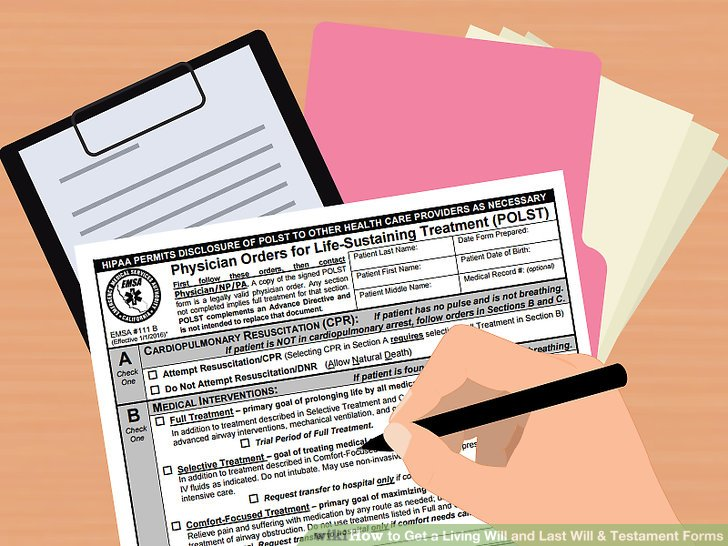 How to Get a Living Will and Last Will \ Testament Forms - last will and testament form