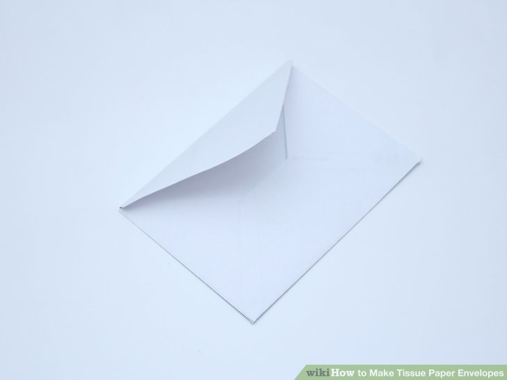 How to Make Tissue Paper Envelopes (with Pictures) - wikiHow