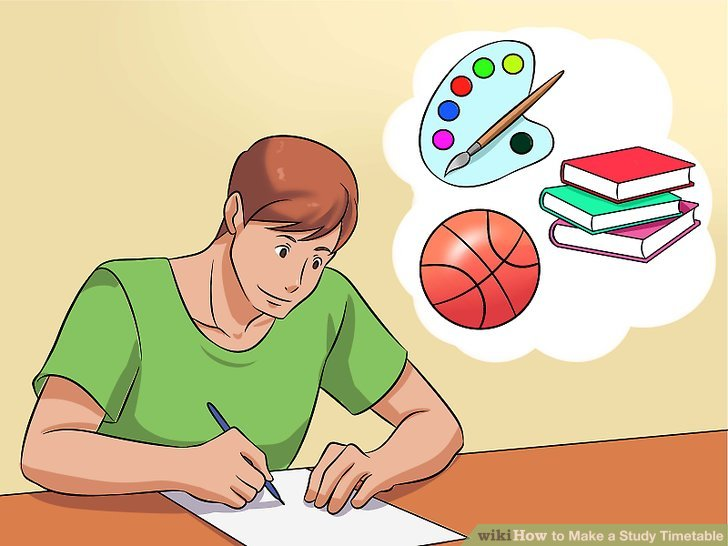 The Easiest Way to Make a Study Timetable - wikiHow