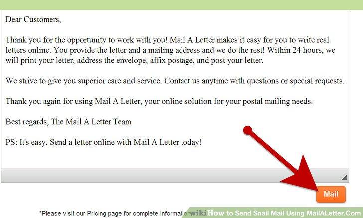 mail a letter online - Experorderingsystem - letters online