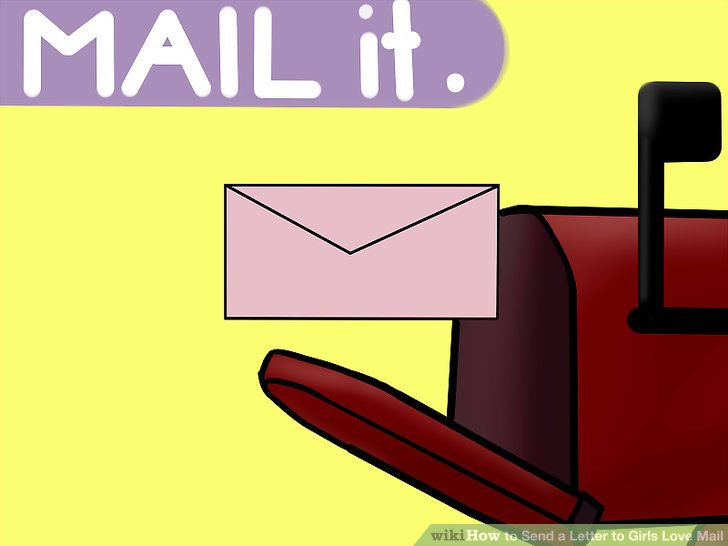 How to Send a Letter to Girls Love Mail 9 Steps (with Pictures)