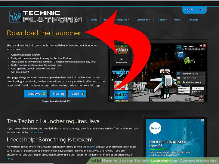 How to Use the Technic Launcher (and Custom Modpacks) 8 Steps