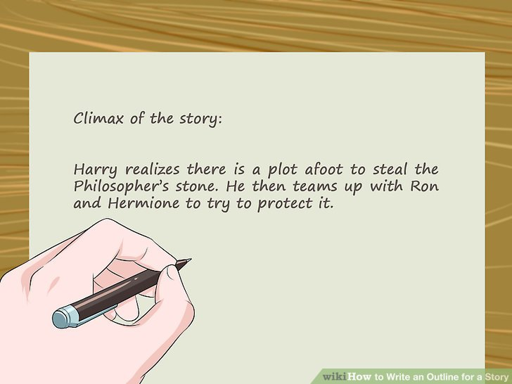 4 Ways to Write an Outline for a Story - wikiHow