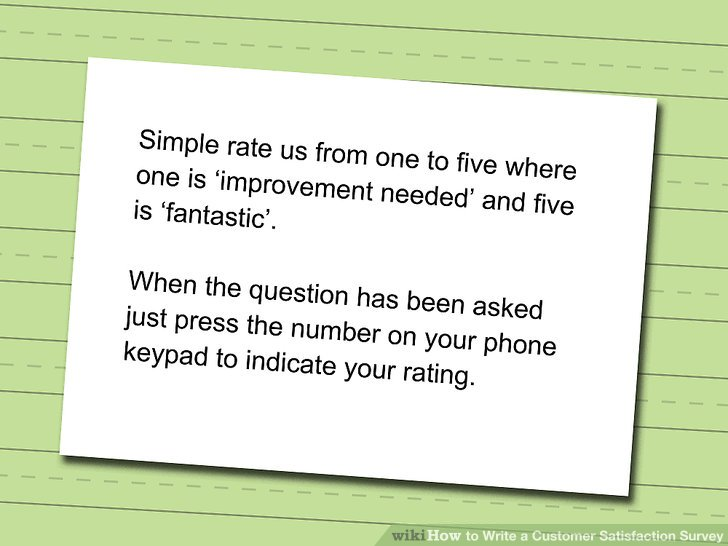 How to Write a Customer Satisfaction Survey 10 Steps