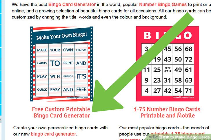 3 Easy Ways to Make Bingo Cards (with Pictures) - wikiHow