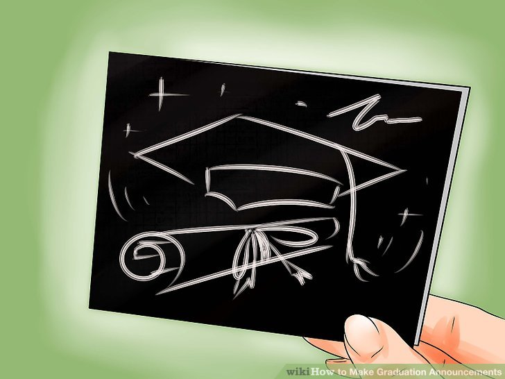3 Ways to Make Graduation Announcements - wikiHow