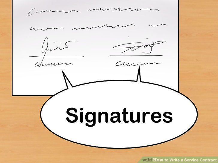 How to Write a Service Contract (with Pictures) - wikiHow - service contract