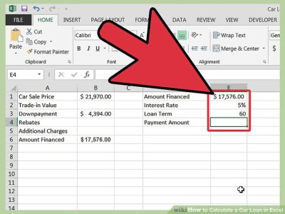 How to Calculate a Car Loan in Excel: 10 Steps (with Pictures)