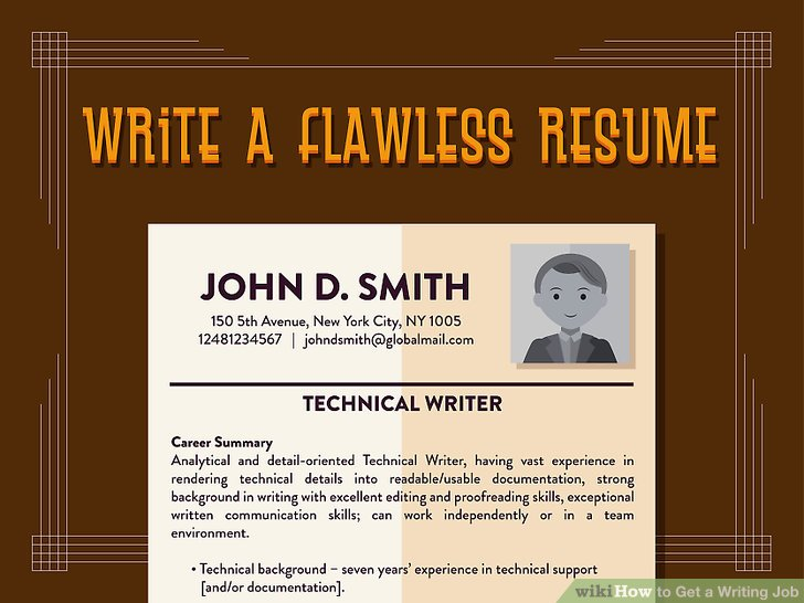 job writer how to get a writing job pictures wikihow essay jobs job - resume writing jobs