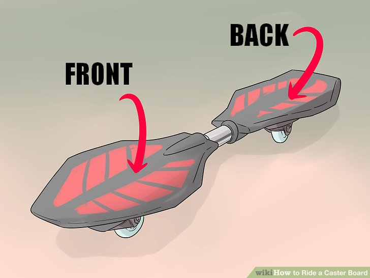 How to Ride a Caster Board (with Pictures) - wikiHow