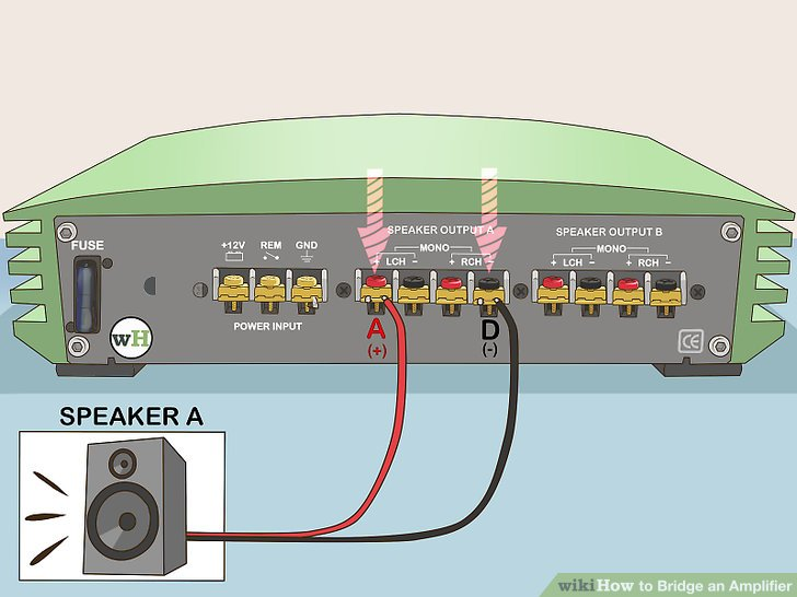 How to Bridge an Amplifier 7 Steps (with Pictures) - wikiHow