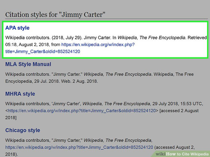 3 Easy Ways to Cite Wikipedia - wikiHow
