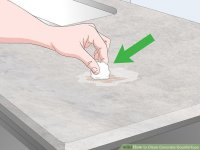 3 Ways to Clean Concrete Countertops - wikiHow