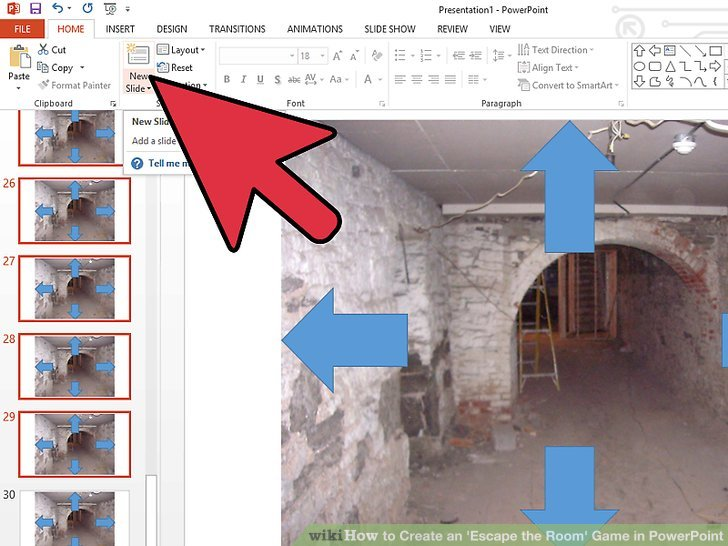 How to Create an \u0027Escape the Room\u0027 Game in PowerPoint