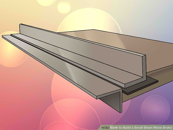 How To Build A Small Sheet Metal Brake 13 Steps With