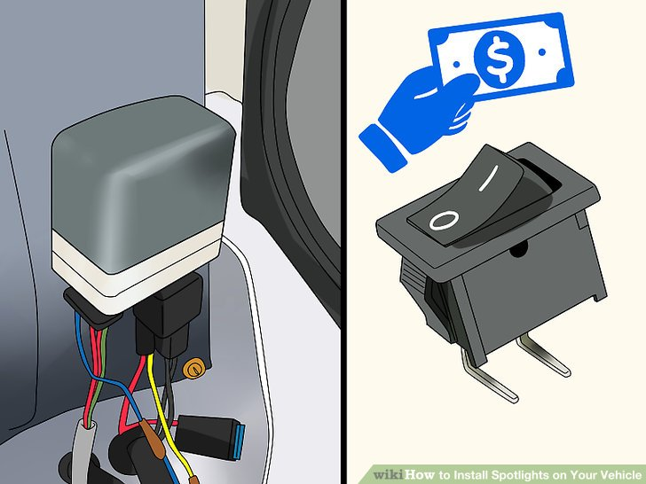 Need To Wire Spotlight Relay Into 09 Hilux Usaly 1 Go Control