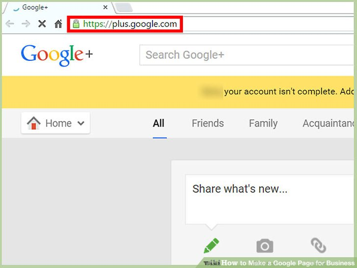 How to Make a Google Page for Business (with Pictures) - wikiHow - how to make business profile