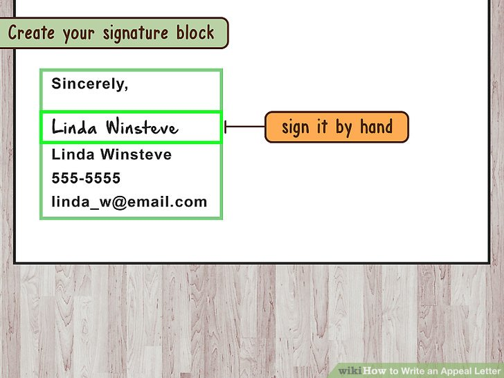 How to Write an Appeal Letter (with Pictures) - wikiHow