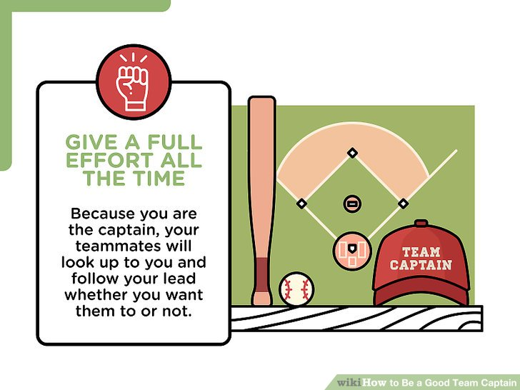 How to Be a Good Team Captain 13 Steps (with Pictures) - wikiHow